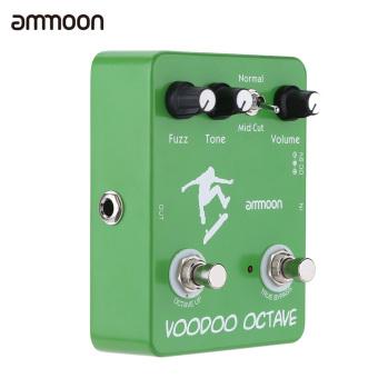 ammoon AP-12 Voodoo Octave Fuzz Effect Guitar Effect Pedal True Bypass - 4