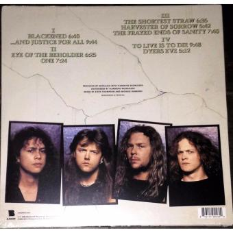 And Justice For All by Metallica Vinyl LP - 2