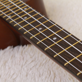 Angesi 23 Inch 12 Colors Ukulele Musical Instrument Hawaiian Small Guitar (Light Green) - Intl - 3