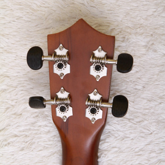 Angesi 23 Inch 12 Colors Ukulele Musical Instrument Hawaiian Small Guitar (Light Green) - Intl - 4