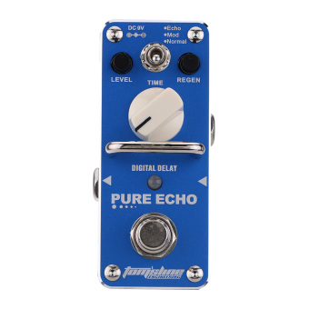 AROMA APE-3 Pure Echo Digital Delay Electric Guitar Effect Pedal Mini Single Effect with True Bypass - 3