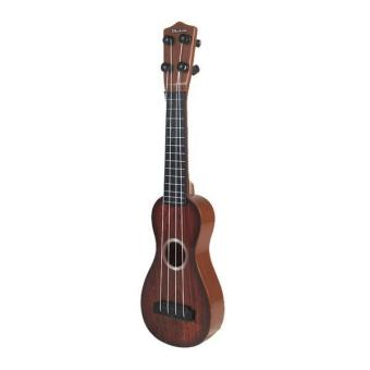 BolehDeals 4 Strings Musical Plastic Toy Ukulele Small Guitar For Beginners Kids Child - intl - 3