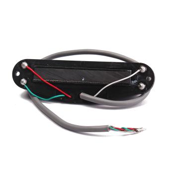 BolehDeals Black Belcat Guitar Hot Rails Pickup for ST Parts Mini Humbucker - 4