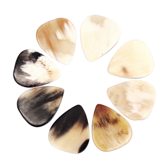 BolehDeals QUALITY HANDCRAFTED HORN GUITAR PICK 8pcs Price Philippines