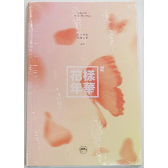 BTS BANGTAN BOYS - In The Mood For Love Part.2 [PEACH ver.]CD+Photobook+Photocard+Folded Poster+Extra Photocards Set
