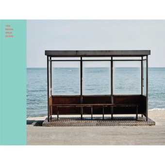 BTS - You Never Walk Alone [LEFT ver.] 1st Press CD + Poster