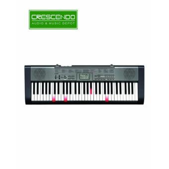 Casio LK-120 61 Keys Lighting Keyboard (Grey)