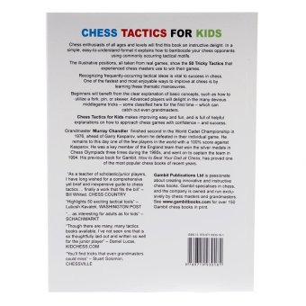 Chess Tactics for Kids: 50 Tricky Tactics to Outwit Your Opponent - picture 2