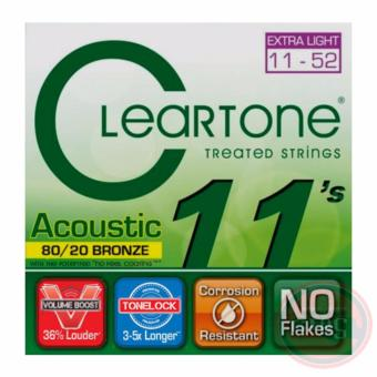 Cleartone Acoustic Guitar Strings Extra Light Gauge (11-52)