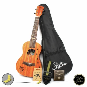 Clifton CUK-300L Concert Ukulele with FREE ACCESSORY SET