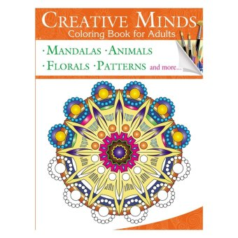 Creative Minds Coloring Books for Adults 4 Price Philippines