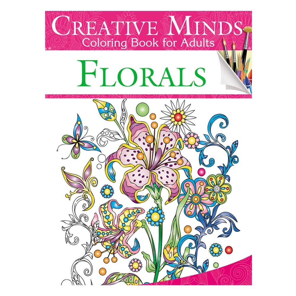 Creative Minds Coloring Books For Adults 7