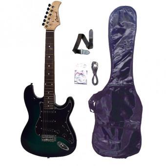 Crescent Electric Guitar (Green)