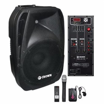 "Crown PRO-2017R 12"" 250W Powered Portable Sound System Price Philippines"