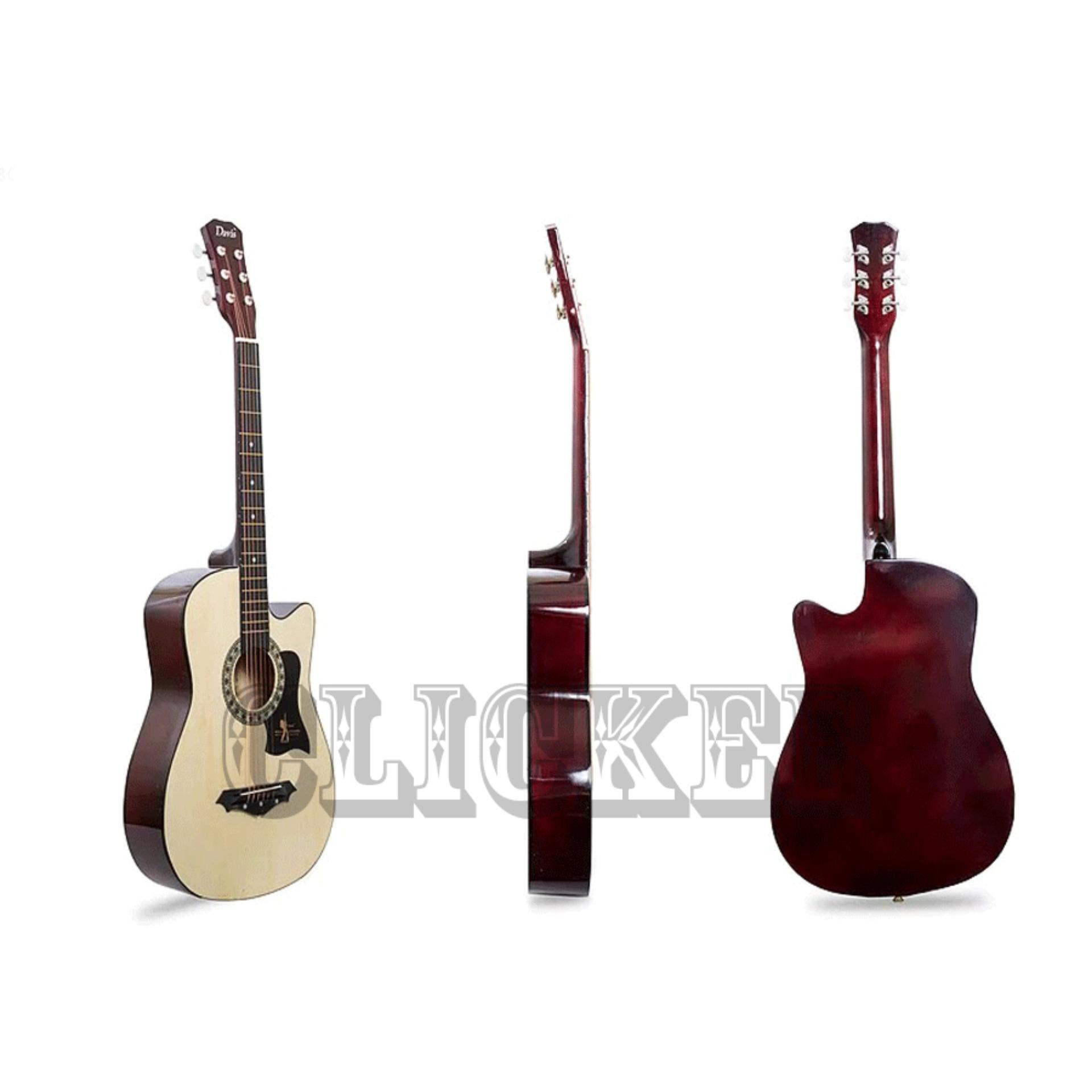 Philippines Davis Acoustic Guitar Jg 38 Best Deals Natural New Price