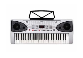 DAVIS D-109 Electronic Keyboard (Silver)