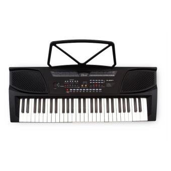 Davis D-201 Hot Picks Digital Keyboard (Black) with Free LearningModule & Davis Stand - 2