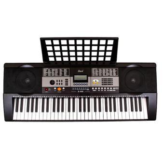Davis D-818 61-Keys Digital Electronic Keyboard Piano Organ w/HEAVY DUTY Double X Stand - 3