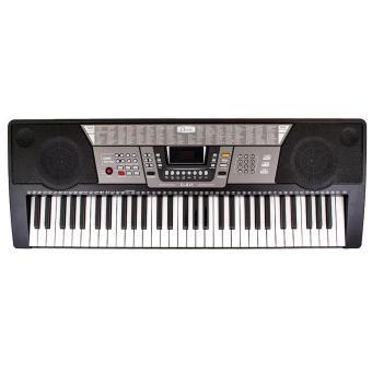 Davis D-818 61-Keys Digital Electronic Keyboard Piano Organ w/HEAVY DUTY Double X Stand - 2