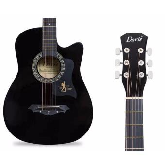 Davis JG38C Acoustic Guitar (Black) - 2