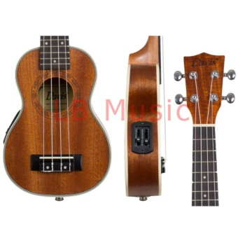 Davis Soprano with pickup and tuner Mahogany Ukulele Ukelele(Natural) - 2