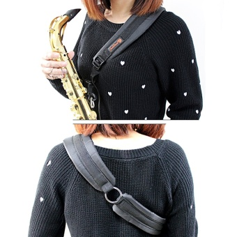 Diagonal Saxophone Strap Belt One Shoulder Straps for Soprano AtoTenor Sax - intl