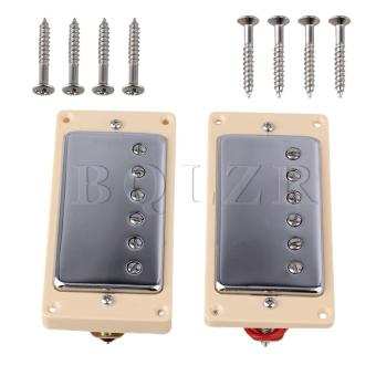 Double Coil Humbucker Pickups For Guitar Cream-colored