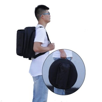 Durable 14 Inch Snare Drum Bag Backpack Case with Shoulder Strap Outside Pockets Outdoorfree - intl