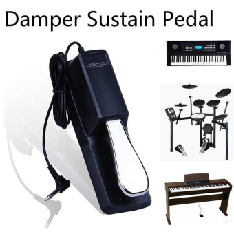 Electric Portable Piano Tuning Tools Damper Sustain Pedal to AllKeyboard Instruments Piano Guitar Midi Keyboard Pedal Sustain -intl