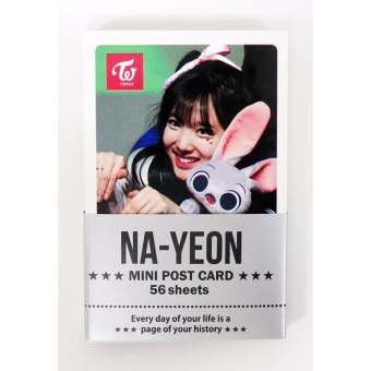 [FAN GOODS] NAYEON TWICE - MINI POSTCARD PHOTOCARD SET 56pcs - intl