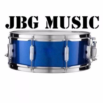 Global 14 x 5.5 Snare Drum (Blue) FREE Drumsticks And Strap