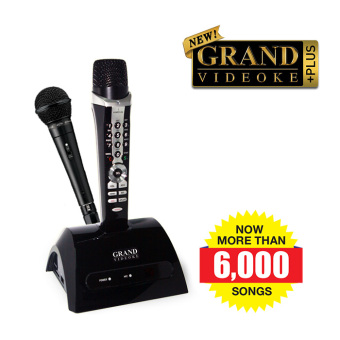 GRAND VIDEOKE HARMONY PLUS (TKR361MP)- HD SOUND, 6,000+ BUILT-INSONGS, 2 PROFESSIONAL MICS (1 WIRELESS, 1 WIRED MIC) Price Philippines