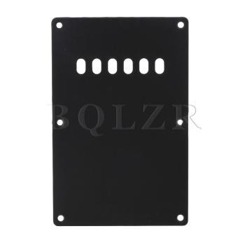 Guitar Back Plate Cavity Cover For Guitar Black