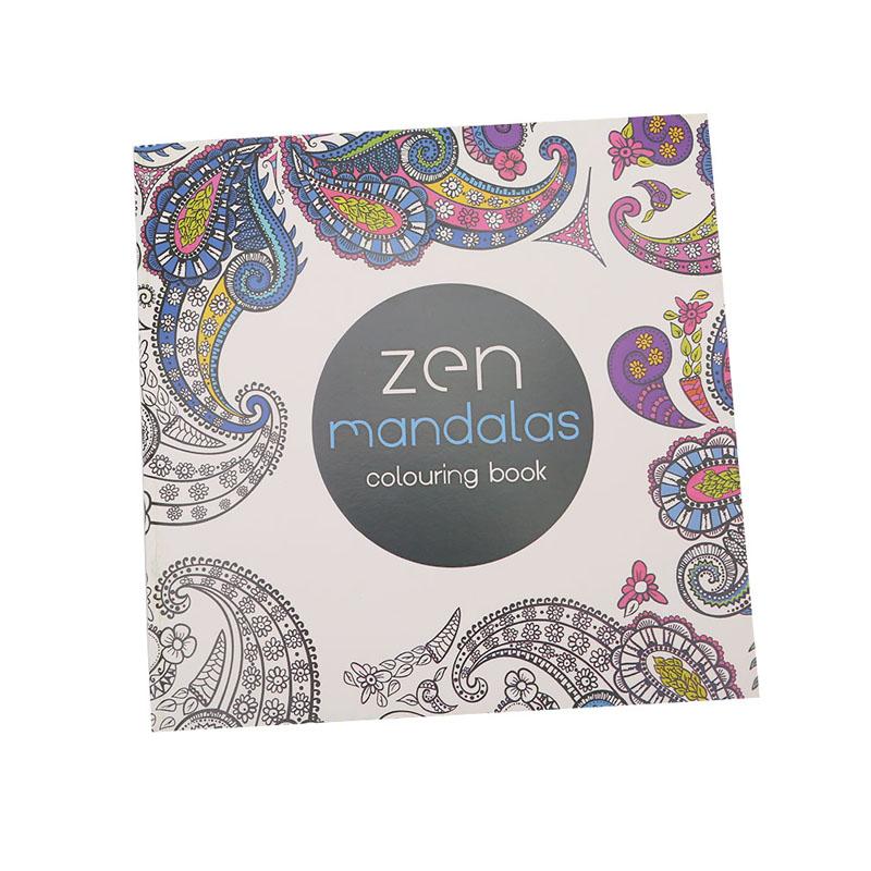 Hanyu Secret Garden Zen Mandala Coloring Book For Children AdultRelieve Stress Kill Time Graffiti Painting Drawing
