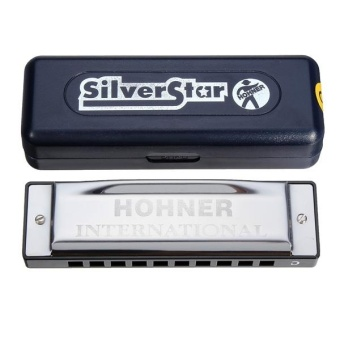 HOHNER Silver Star 10 Holes Blues Harmonica C Notes - intl - 5
