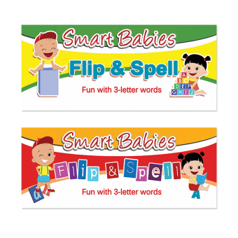 WS Smart Babies Flip & Spell Set Of 2 (Red & Yellow) Price Philippines