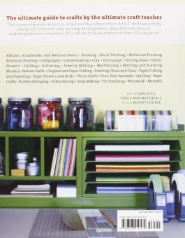 Harga Martha Stewart's Encyclopedia Of Crafts An A-To-Z Guide With Detailed Instructions And Endless Inspiration