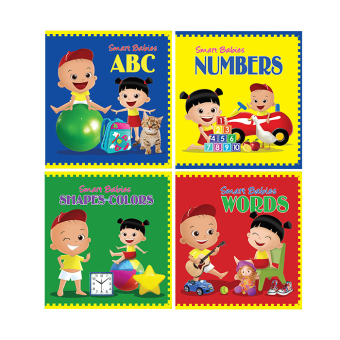 WS Smart Babies Board Book Set of 4 Price Philippines