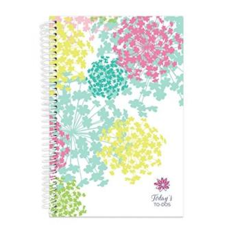 bloom daily planners Bound To-Do List Book – Planning System Tear Off To Do Pads – UNDATED Daily Planner To Do Pad 6″ x 8.25″ – Bloom