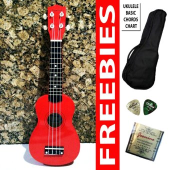 Premiere Ukulele Soprano (Red) Price Philippines