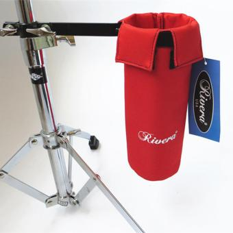Harga Red Color RIVERA Drum Stick Holder Drumsticks Bag Hang on Drum Set - intl