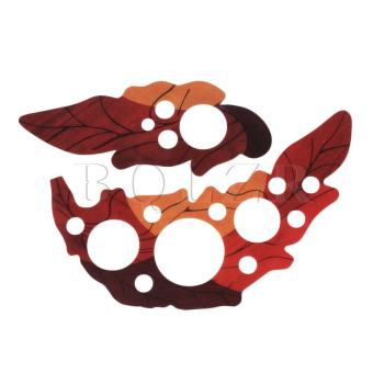 Harga Leaf Design Acoustic Guitar Leaf Shell Pickguard Red