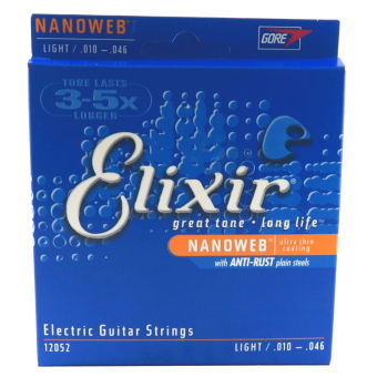 Elixir Nanoweb Light Electric Guitar Strings Price Philippines