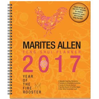 MARITES ALLEN FENG SHUI PLANNER 2017