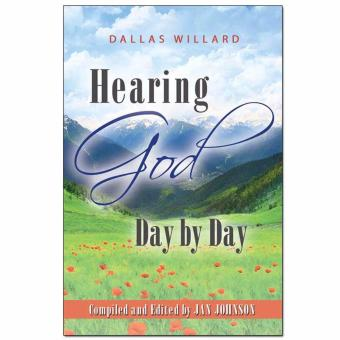 """Hearing God Day by Day"" by Dallas Willard - Devotional Book Price Philippines"