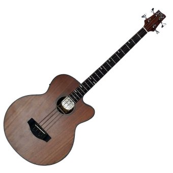 D&D BATHALA Acoustic Bass Guitar with Active Pick Up (Mahogany) Price Philippines