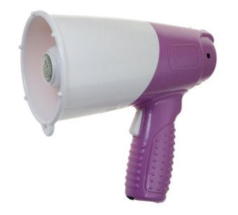 Syber NS-5LA/VLT Coach Megaphone with Whistle (Violet) Price Philippines