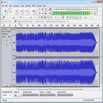 Harga Audacity® Audio Recorder And Editor - Your Professional Sound Studio For Recording- Editing And Playing All Common Audio Files: Wav- Aiff- Flac- Mp2- Mp3- Ogg Vorbis I For Pc + Mac