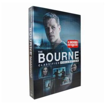 Harga The Bourne Identity - Complete 1-4 Film Collection DVD, 5-Disc Box Set - intl