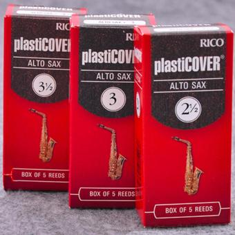 RICO Plasticover Eb alto sax reed 3#, Box of 5 saxphone reeds - intl Price Philippines